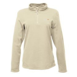 Ladies 1/4 zip fleece top