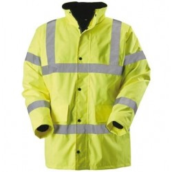 Hi-vis contractor coat