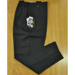 Boys School Sturdy Fit Plain Trousers