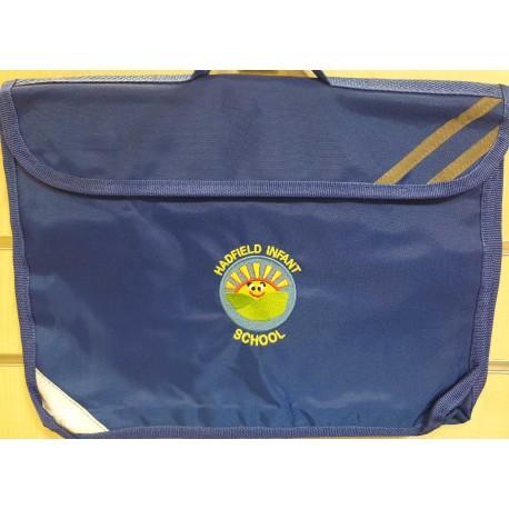 Hadfield Infants book bag