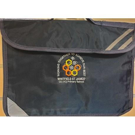 St James book bag