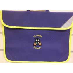 St Lukes book bag